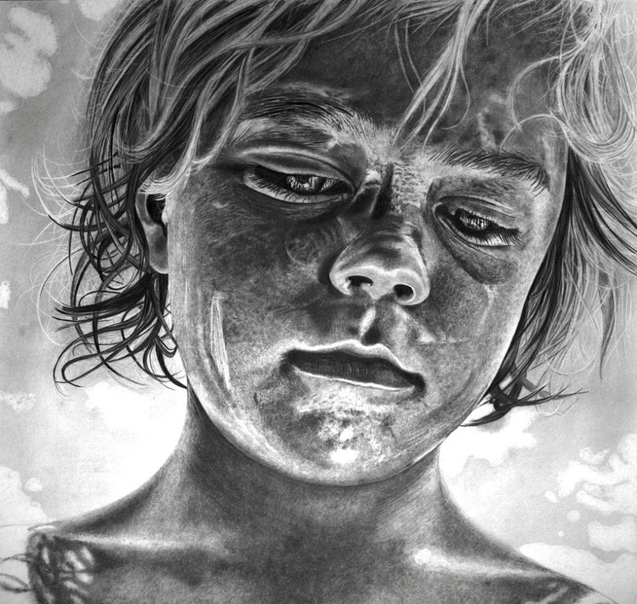 Paul Stowe - Pencil Drawing - The Lord of the Flies