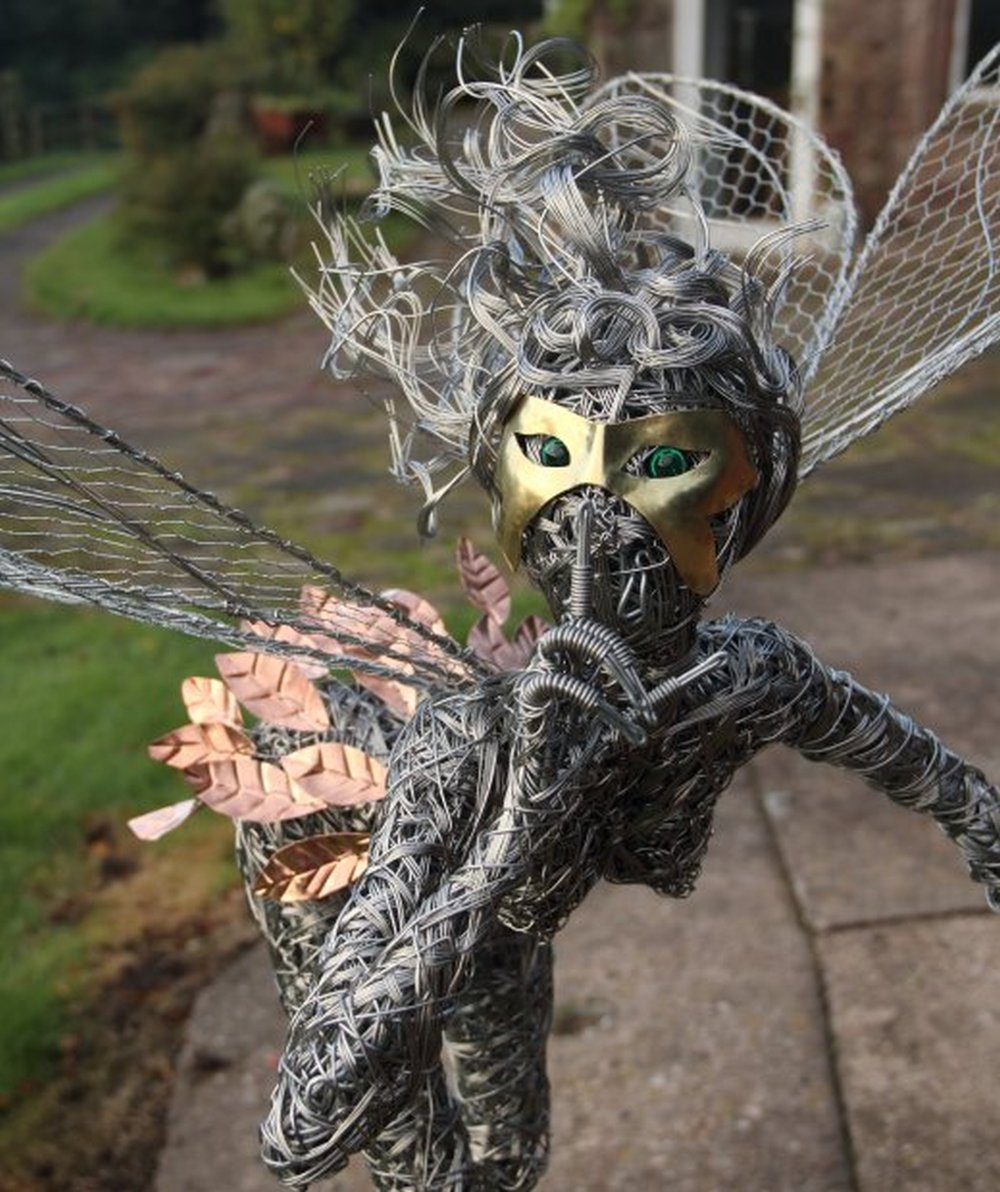Robin Wight - Steel Wire Fairies x-5845212 Rev