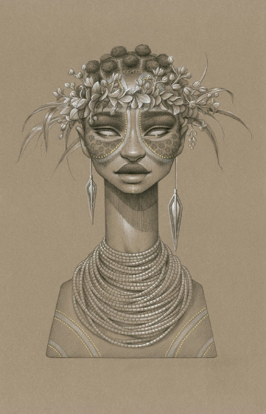 Tsehai Sun Goddess by Sara Golish