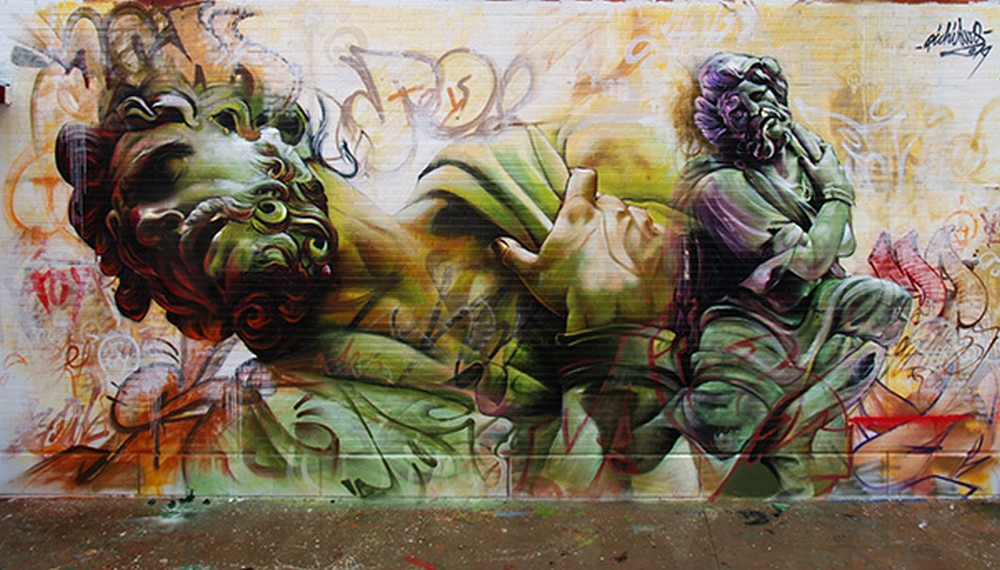 Pichi and Avo - Street Art