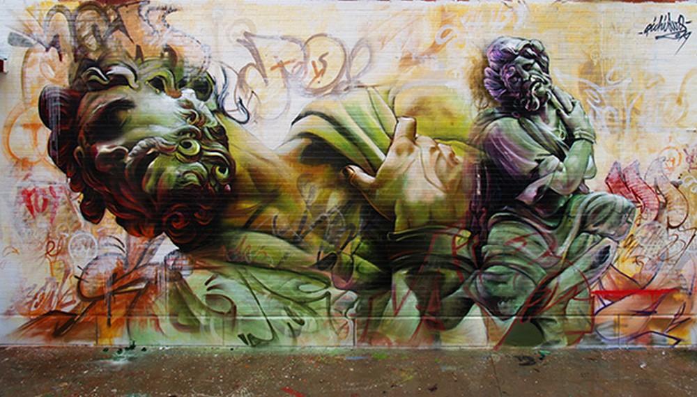 Pichi and Avo - Street Art