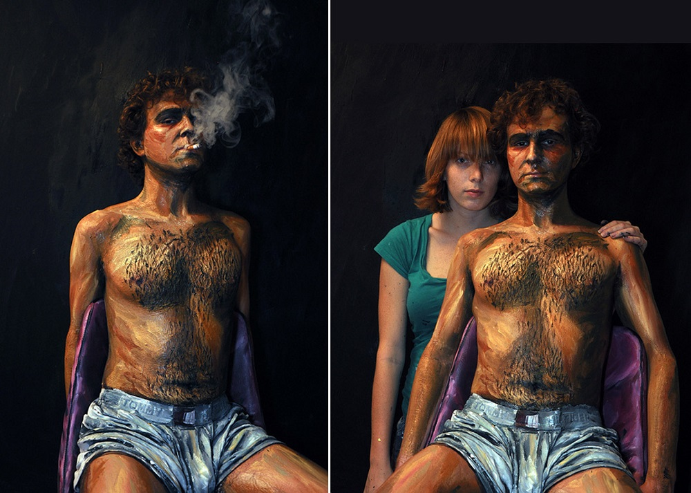 Alexa Meade - Painting - Body Canvas 3254265