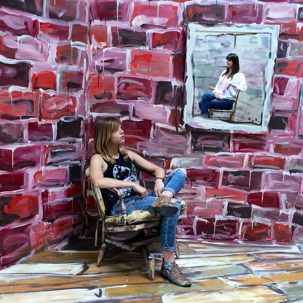 Alexa Meade - Painting - Body Canvas 325461