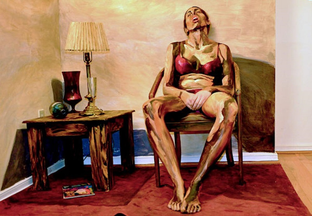 Alexa Meade - Painting - Body Canvas 3652125