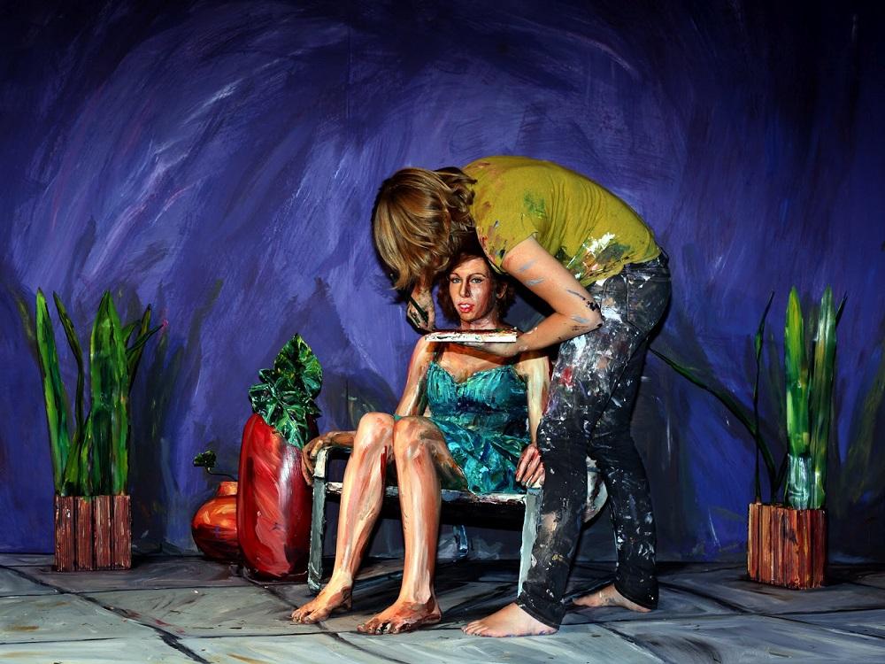 Alexa Meade - Painting - Body Canvas 698526