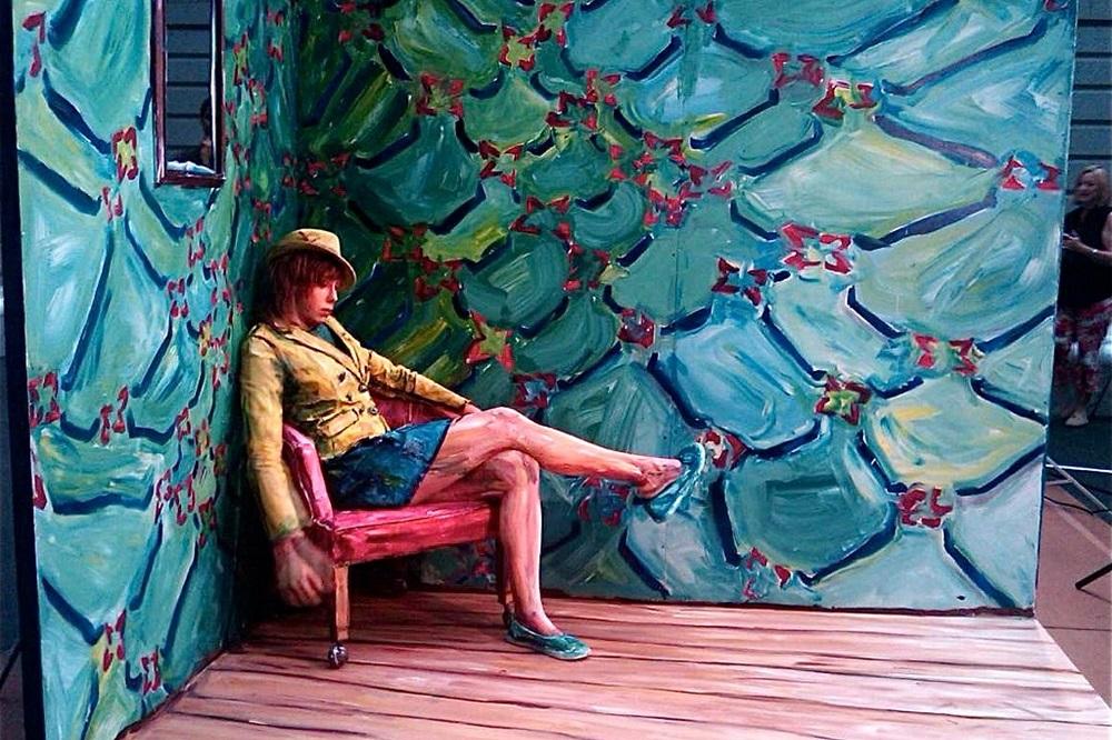 Alexa Meade - Painting - Body Canvas 9563256
