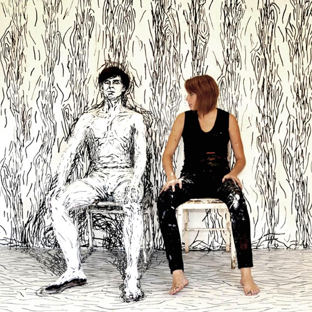 Alexa Meade - Painting - Body Canvas 9632569
