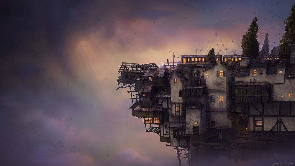 Gediminas Pranckevicius - surreal-digitally-painted-landscapes 695632