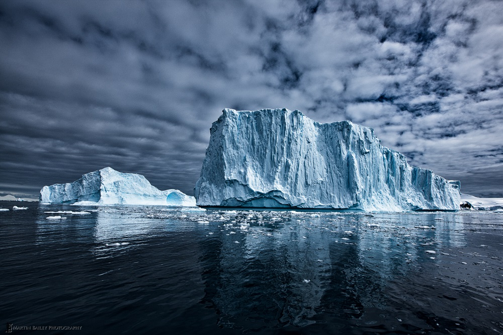 Monumental Icebergs - Martin Bailey Antarctica Iceberg