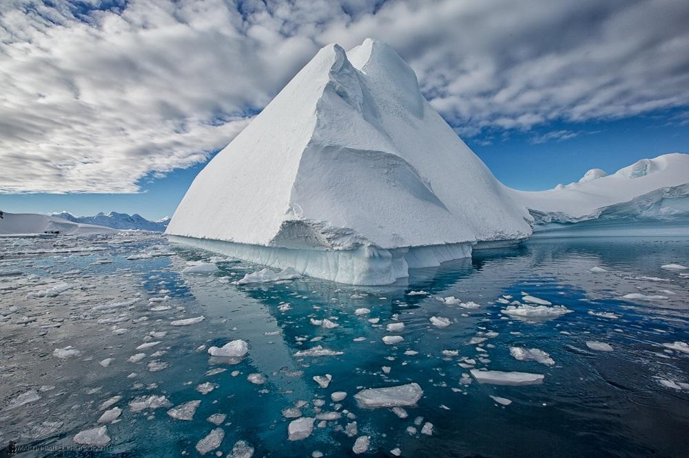 Egyptian Architecture - Martin Bailey Antarctica Iceberg