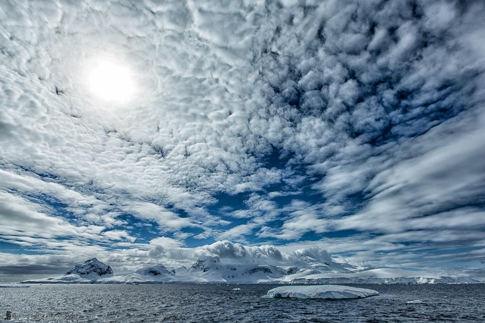Antarctic Sky - Martin Bailey Antarctica Iceberg