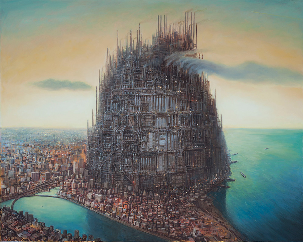 Michael Kerbow - Paintings -Their_Refinement_of_the_Decline