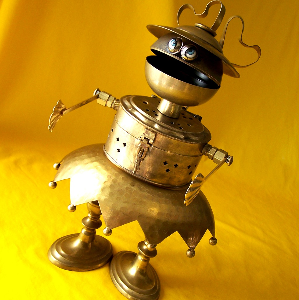Will Wagenaar - BRENDA - The Born To Be Bad Little Girl Robot 1075