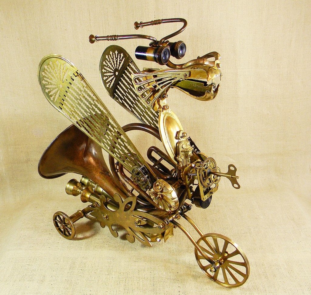Will Wagenaar - Robot - GALLANT - The Steampunk Dragon