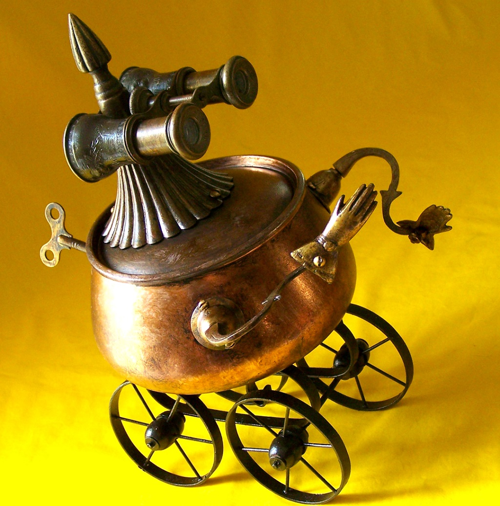 Will Wagenaar - Robot THE MARY TODD Jewelry Boxes 1080