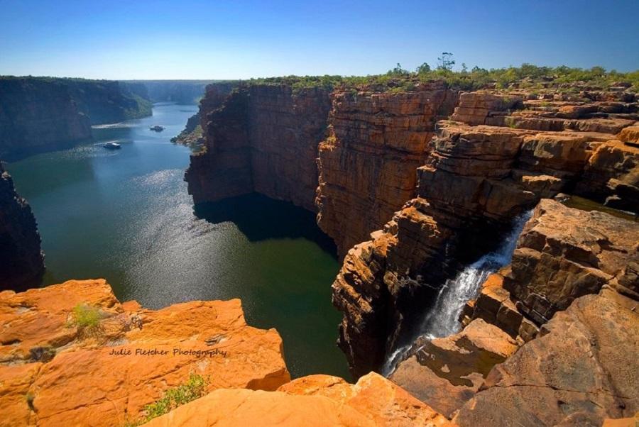 julie-fletcher-King George Falls Kimberley Coast Western Australia