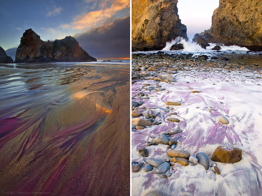 13-Pfeiffer Purple Sand Beach, California