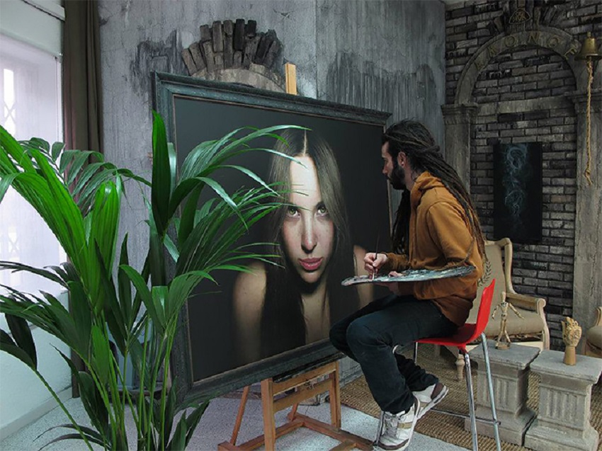 Alejandro Monge - Realistic Painting 1256578