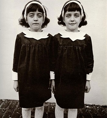 Diane Arbus - Identical Twins, Roselle, New Jersey 1967