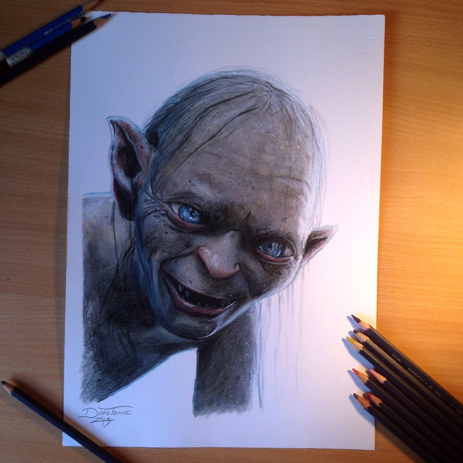 Dino-Tomic-realistic-pencil-drawings - 721596