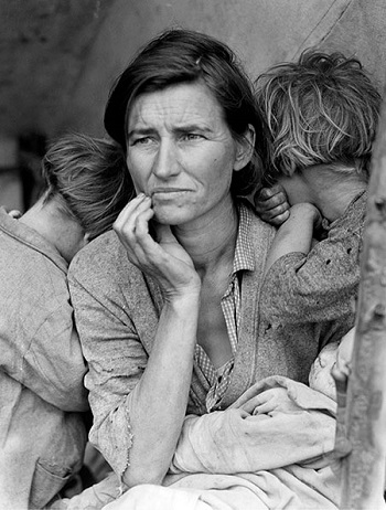 Dorothea Lange - Migrant Mother, Nipomo, California
