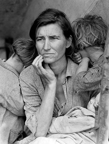 Dorothea Lange - Migrant Mother, Nipomo, California
