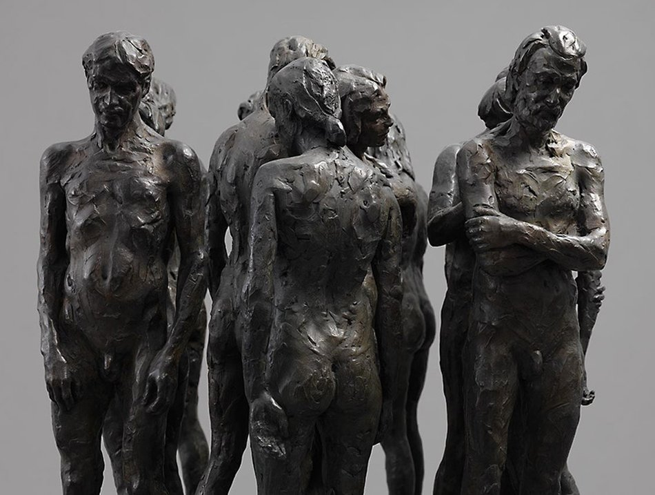 Kevin Francis Gray - Bronze Marble Sculpture - Twelve Chambers Maquette 12356