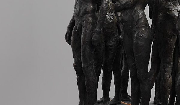 Kevin Francis Gray – Bronze Marble Sculpture – Twelve Chambers Maquette – Feature