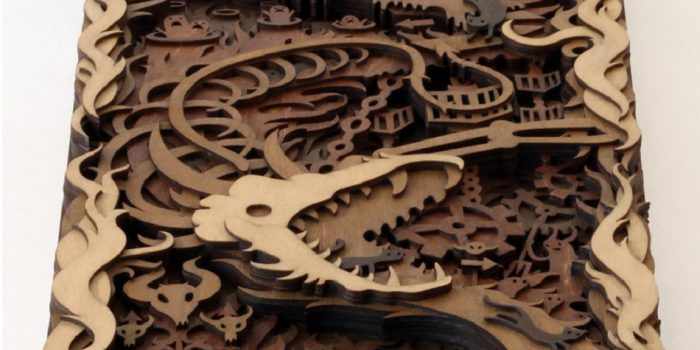 Martin Tomsky Laser Cut Wood  Warm Welcome – Feature