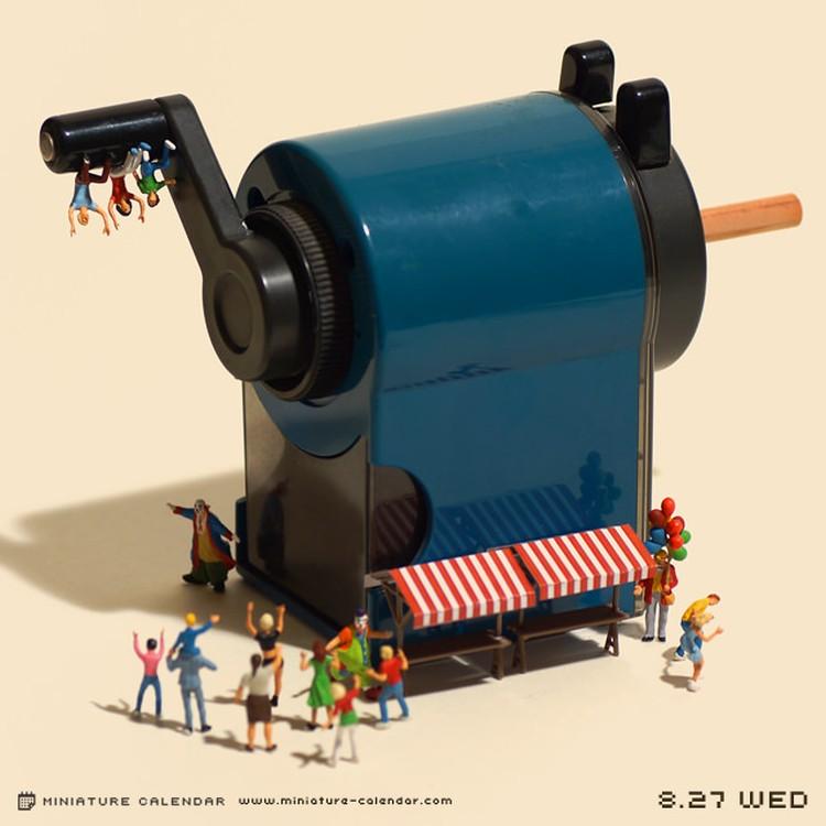 Tanaka Tatsuya - miniature-calendar-dioramas 1-163596