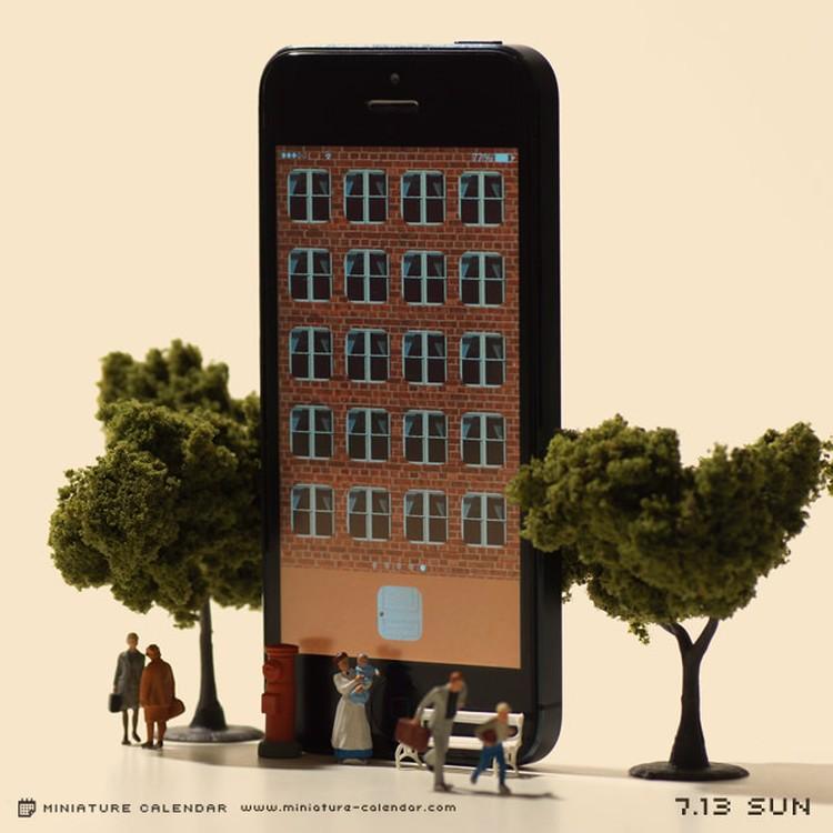 Tanaka Tatsuya - miniature-calendar-dioramas 2-458663