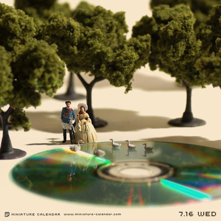 Tanaka Tatsuya - miniature-calendar-dioramas 2-563269