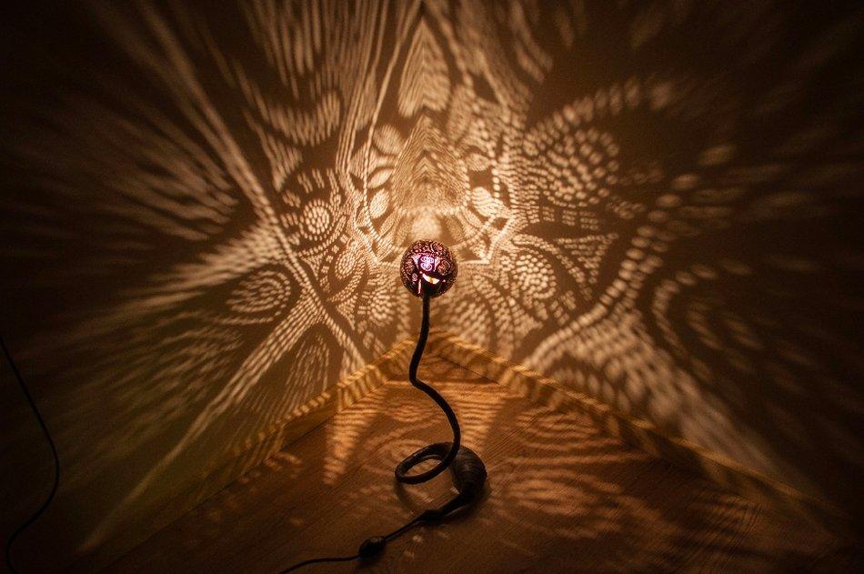 Vainius Kubilius - Coconut - Nymphs Lamps - 9856326