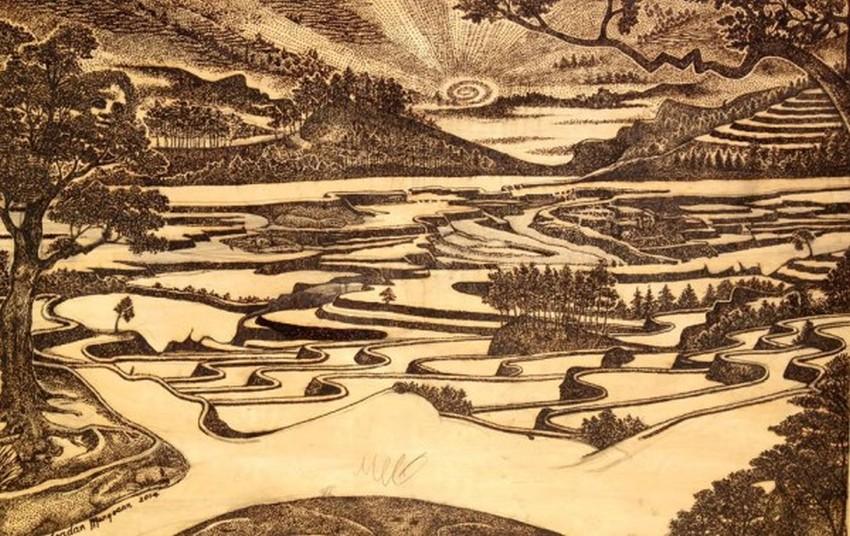Jordan Mang-osan - Solar -Drawing 89635