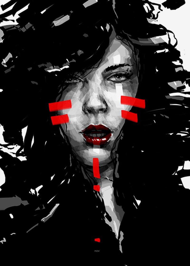 Kaloian Toshev_Girls-Drawimngs_War