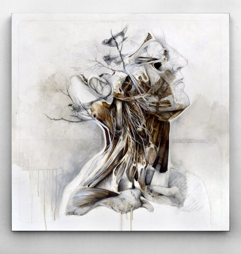 Nunzio Paci - Graphite and Oil Paintings 523696