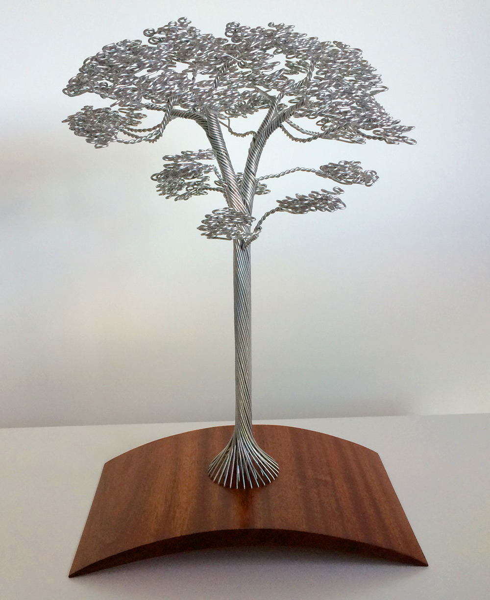 Wire Tree Sculptures Clive Maddison 365236