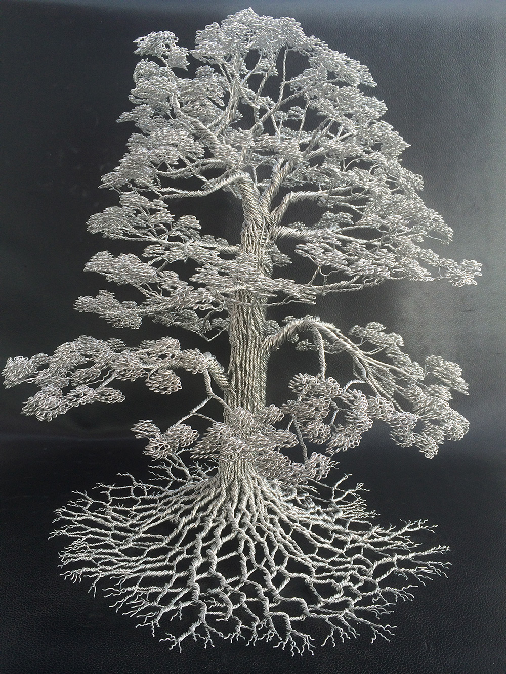 Wire Tree Sculptures Clive Maddison 36975
