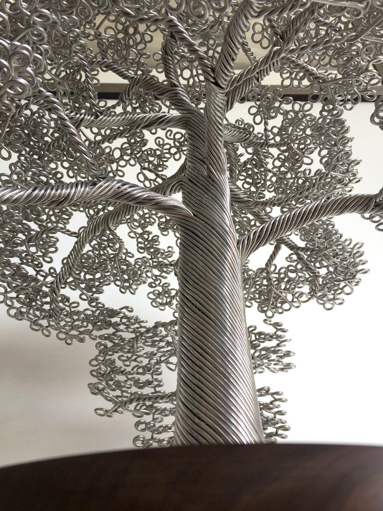 Wire Tree Sculptures Clive Maddison 98536   MOMENTS Journal