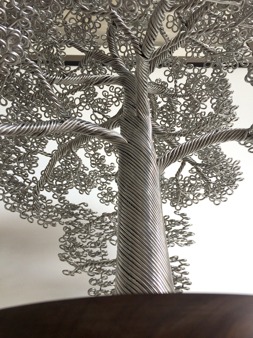 Wire Tree Sculptures Clive Maddison 98536