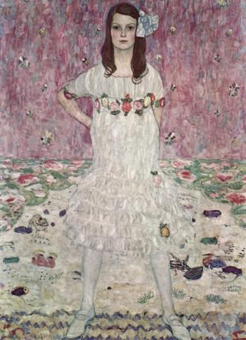 Mäda Gertrude Primavesi by Gustav Klimt