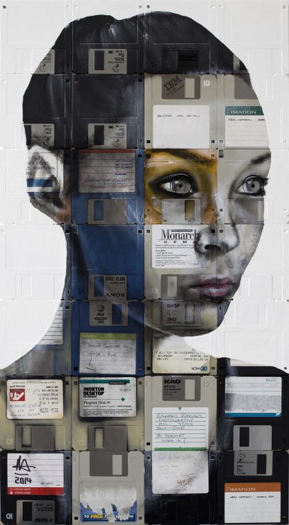 NICK GENTRY - Painting-Negative Films-Disk-Monarch