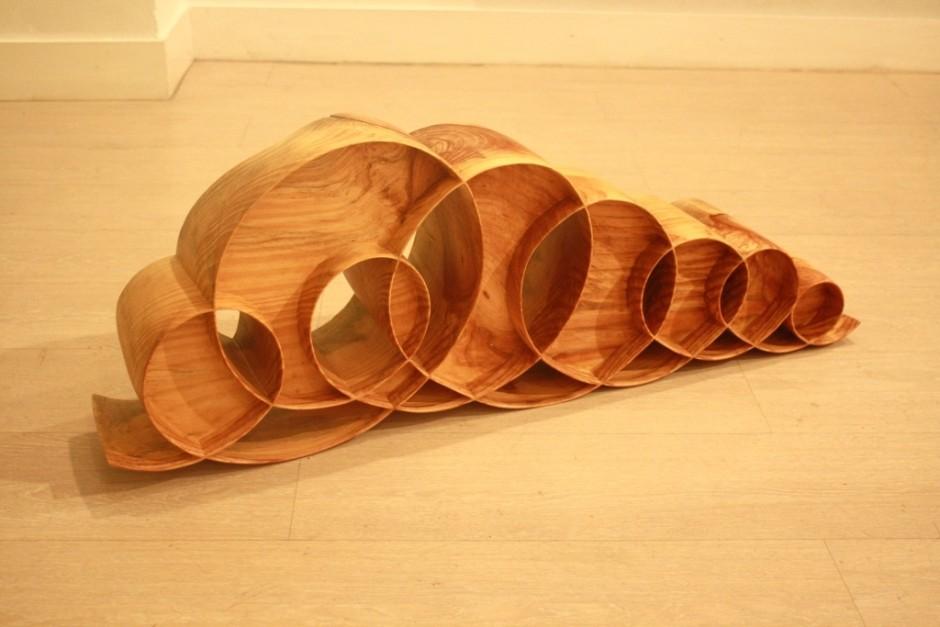 Xavier Puente Vilardell - Pine Wood Sculpture - 542685