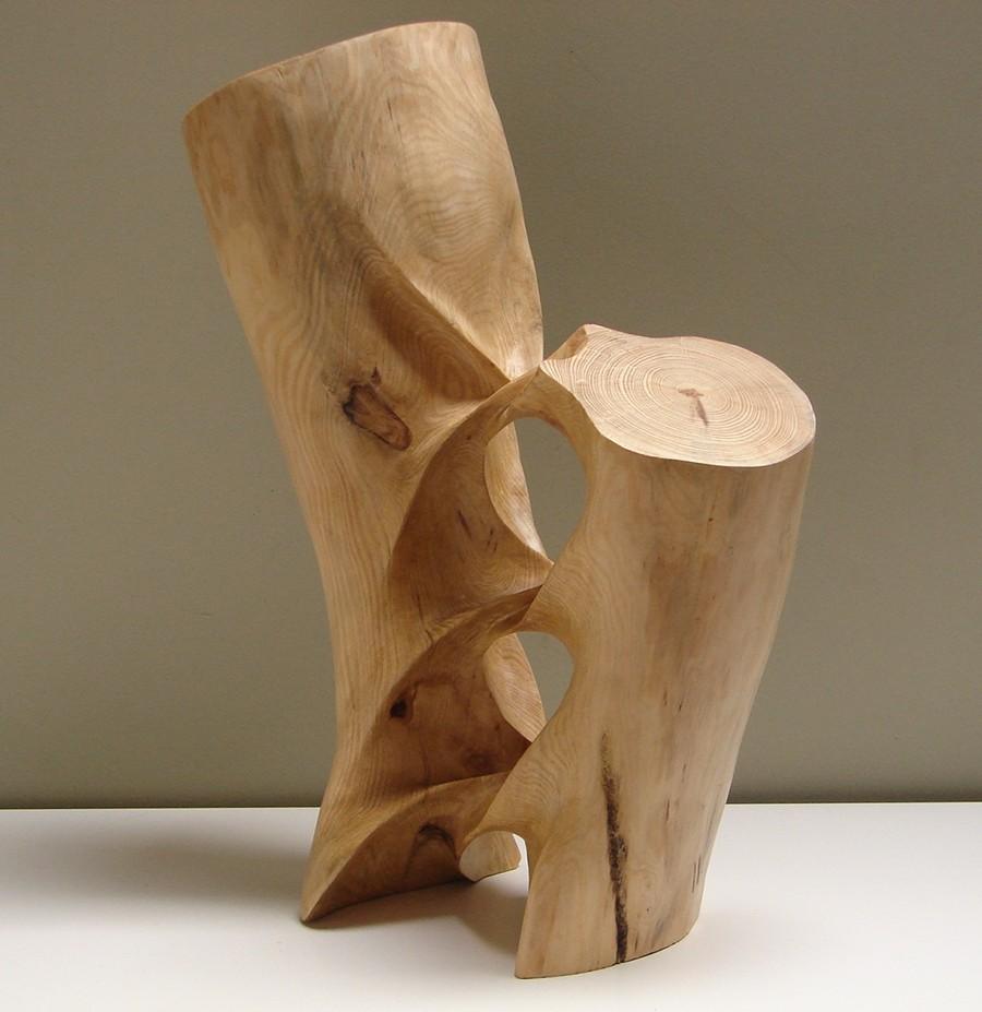 Xavier Puente Vilardell - Pine Wood Sculpture - 56984