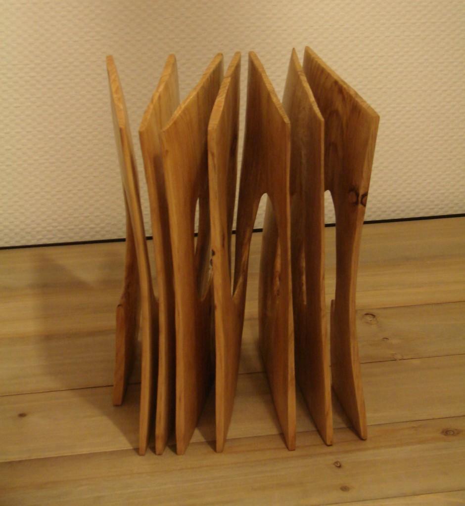 Xavier Puente Vilardell - Pine Wood Sculpture - 68429