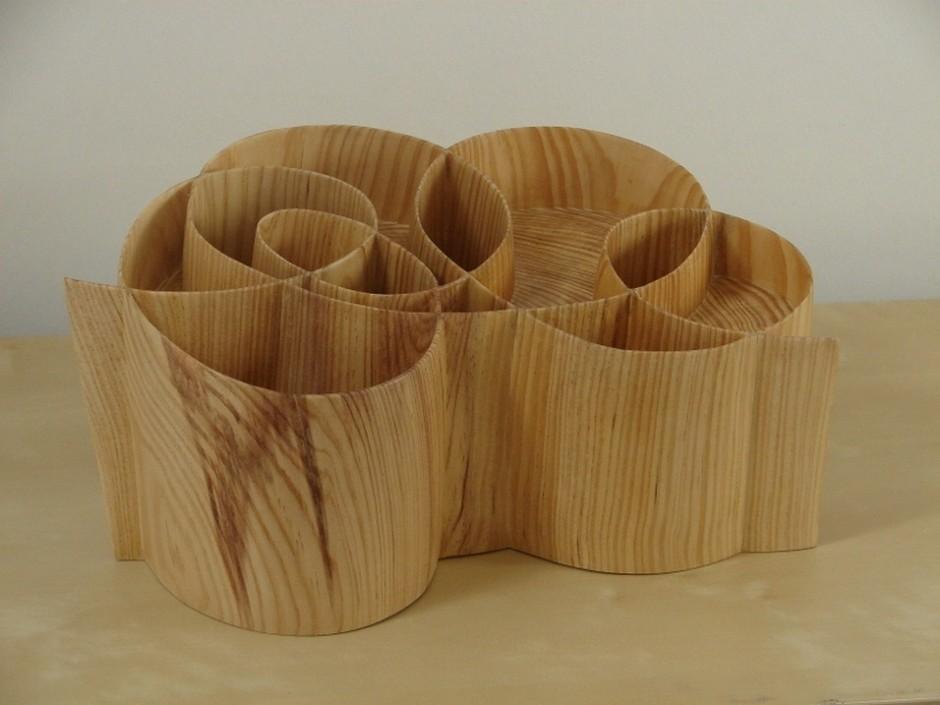 Xavier Puente Vilardell - Pine Wood Sculpture - 75556