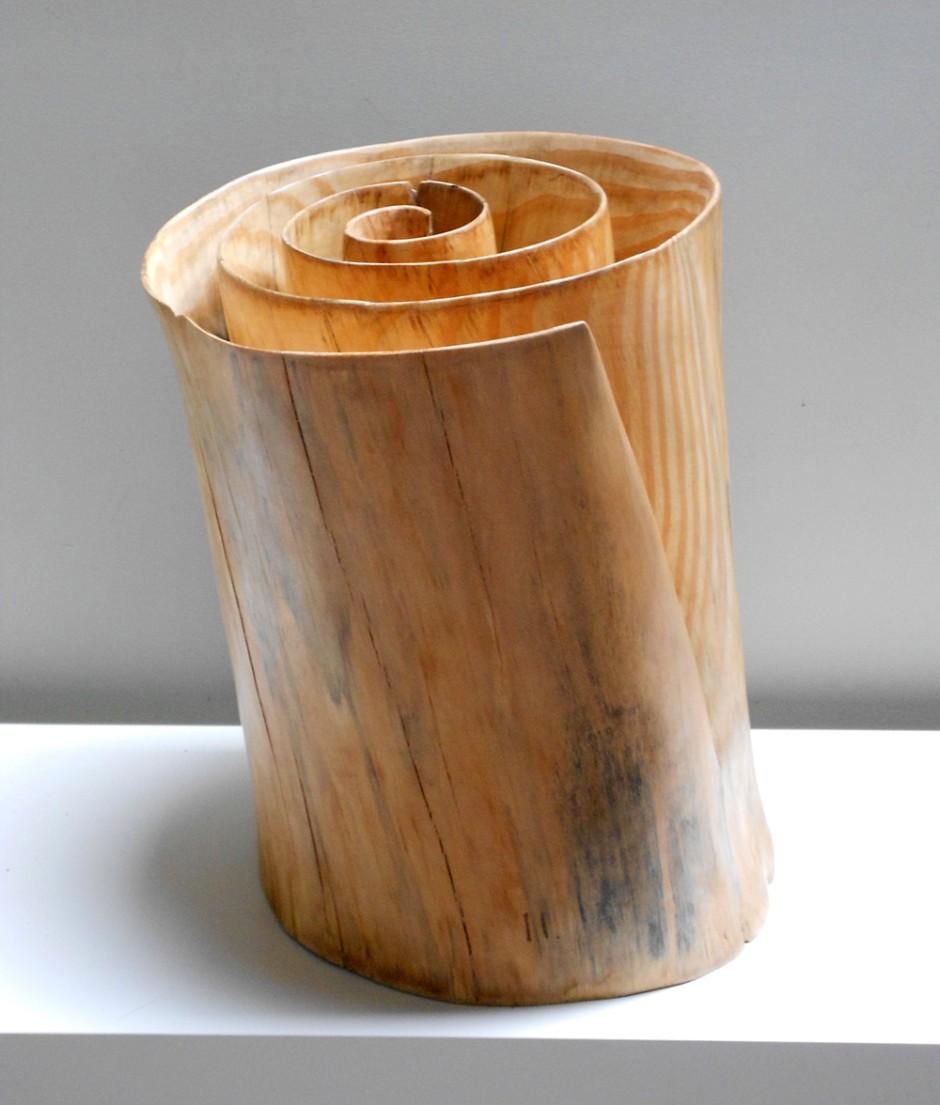 Xavier Puente Vilardell - Pine Wood Sculpture - 78469