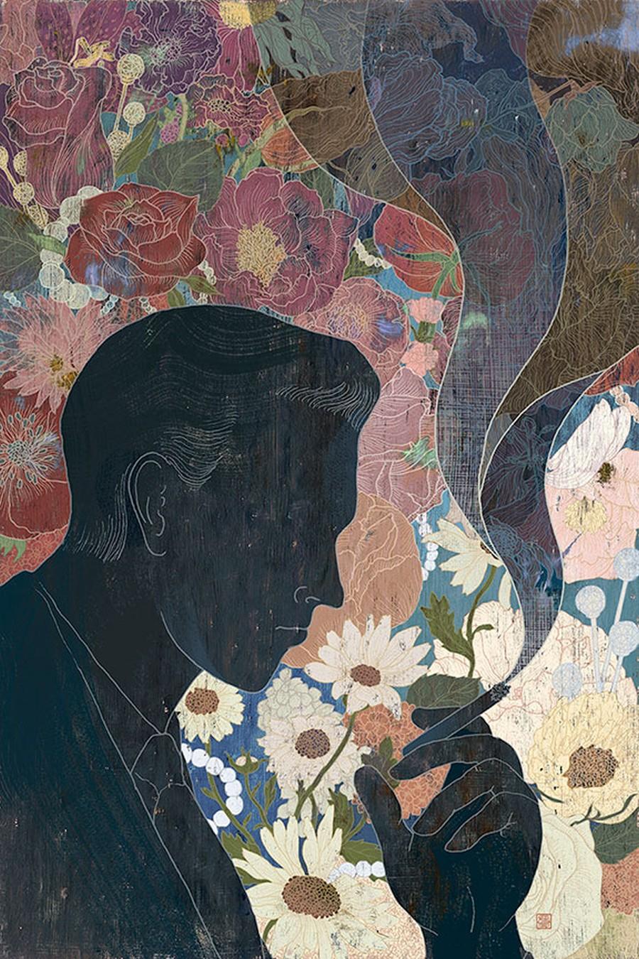 Yohey Horishita-Illustration-Great Gatsby