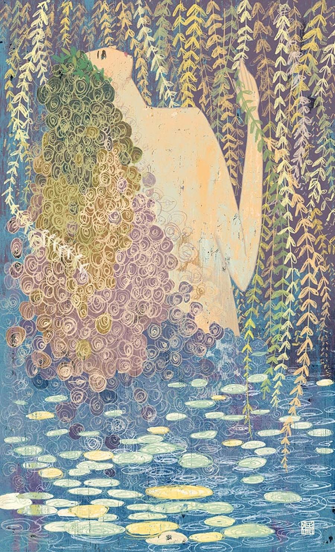 Yohey Horishita-Illustration-WEEPING WILLOW