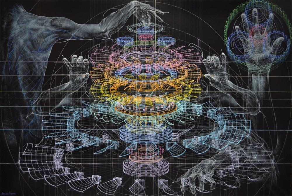 Atsushi Koyama-Drawings-Paintings-12566